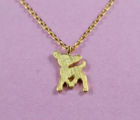 Adorable Deer Necklace