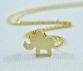 Sweet Baby Elephant Necklace