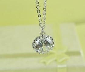 Beautiful CZ Pendant Necklace